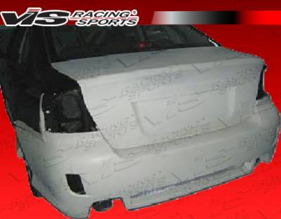 Legacy - Rear Bumper - VIS Racing - Subaru Legacy VIS Racing M Tech Rear Bumper - 05SBLEG4DMTH-002