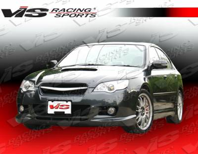 Legacy - Rear Bumper - VIS Racing. - Subaru Legacy VIS Racing Wings Rear Bumper - 05SBLEG4DWIN-002