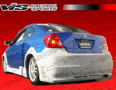 TC - Rear Bumper - VIS Racing - Scion tC VIS Racing Octane Rear Bumper - 05SNTC2DOCT-002
