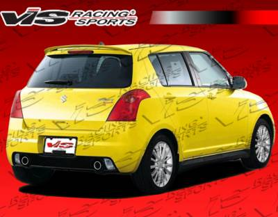 Swift - Rear Bumper - VIS Racing - Suzuki Swift VIS Racing D Speed Rear Bumper - 05SZSWF4DDSP-002