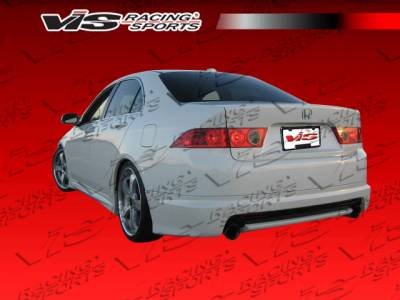 TSX - Rear Bumper - VIS Racing - Acura TSX VIS Racing Techno R Rear Lip - 06ACTSX4DTNR-012