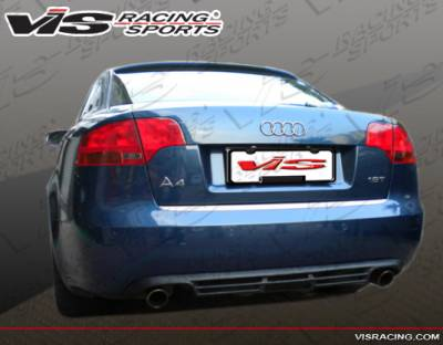 A4 - Rear Bumper - VIS Racing - Audi A4 VIS Racing A Tech Rear Lip - 06AUA44DATH-012