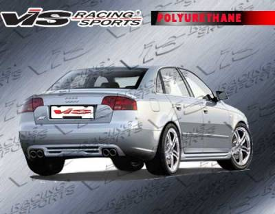 A4 - Rear Bumper - VIS Racing. - Audi A4 VIS Racing A Tech Rear Lip - 06AUA44DATH-012P