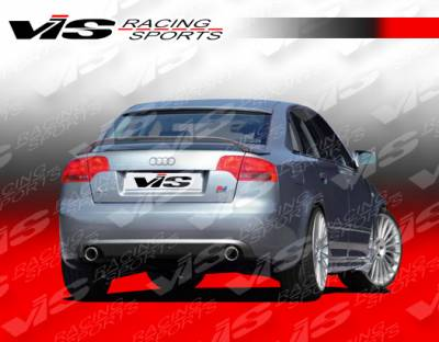 A4 - Rear Bumper - VIS Racing - Audi A4 VIS Racing C Tech Rear Lip - 06AUA44DCTH-012