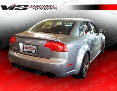 A4 - Rear Bumper - VIS Racing - Audi A4 VIS Racing RS4 Rear Bumper - 06AUA44DRS4-002