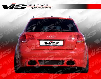 A4 - Rear Bumper - VIS Racing - Audi A4 VIS Racing R Tech Rear Lip - 06AUA44DRTH-012
