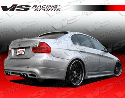 3 Series 4Dr - Rear Bumper - VIS Racing - BMW 3 Series VIS Racing Euro Tech Rear Lip - 06BME904DET-012