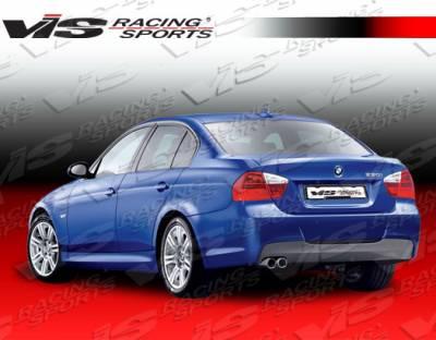 3 Series 4Dr - Rear Bumper - VIS Racing - BMW 3 Series VIS Racing M Tech Rear Bumper - 06BME904DMTH-002