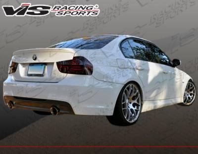 3 Series 4Dr - Rear Bumper - VIS Racing - BMW 3 Series 4DR VIS Racing M-Tech Type 2 Rear Bumper with Dual Exhaust - 06BME904DMTH2-002