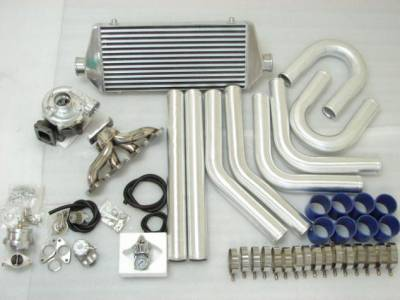 Performance Parts - Turbo Charger Kit - Custom - H22 DOHC VTEC TURBO KIT