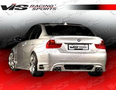 3 Series 4Dr - Rear Bumper - VIS Racing - BMW 3 Series VIS Racing R Tech Rear Lip - 06BME904DRTH-012