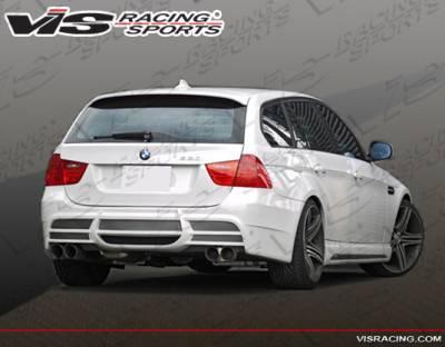 3 Series 4Dr - Rear Bumper - VIS Racing - BMW 3 Series VIS Racing VIP Rear Bumper - 06BME90WGVIP-002