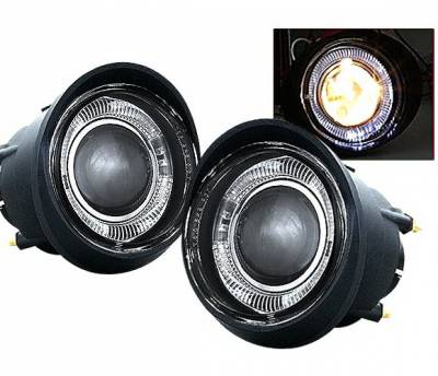 Headlights & Tail Lights - Fog Lights - 4 Car Option - Nissan Altima 4 Car Option Projector Fog Light Kit - Smoke - LHFP-NA02SM-WJ
