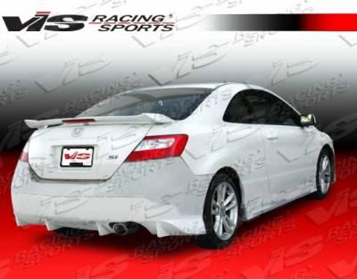 Civic 2Dr - Rear Bumper - VIS Racing - Honda Civic 2DR VIS Racing N1 Rear Bumper - 06HDCVC2DN1-002