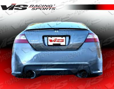 Civic 2Dr - Rear Bumper - VIS Racing - Honda Civic 2DR VIS Racing Terminator Rear Bumper - 06HDCVC2DTM-002