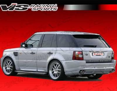 Range Rover - Rear Bumper - VIS Racing - Land Rover Range Rover VIS Racing Astek Rear Lip - 06LRRRS4DAST-012