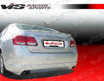 GS - Rear Bumper - VIS Racing - Lexus GS VIS Racing Techno R Rear Lip - 06LXGS34DTNR-012