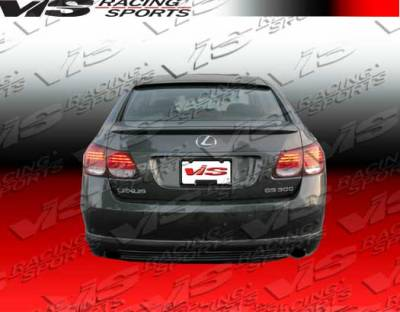 GS - Rear Bumper - VIS Racing - Lexus GS VIS Racing VIP-2 Rear Lip - 06LXGS34DVIP2-012