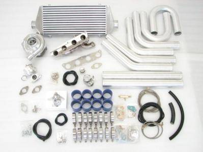 Performance Parts - Turbo Charger Kit - Custom - 2ZZGE T3 T4 CUSTOM TURBO KIT