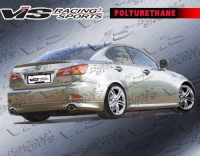 IS - Rear Bumper - VIS Racing. - Lexus IS VIS Racing Techno R Rear Lip - 06LXIS34DTNR-012P
