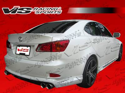 IS - Rear Bumper - VIS Racing - Lexus IS VIS Racing VIP Rear Lip - 06LXIS34DVIP-012