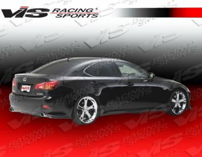IS - Rear Bumper - VIS Racing - Lexus IS VIS Racing VIP-2 Rear Lip - 06LXIS34DVIP2-012
