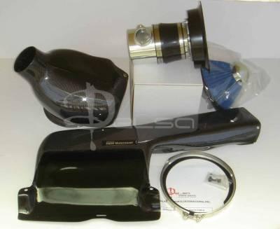Air Intakes - OEM - Custom - E46 M3 CARBON FIBER COLD AIR INTAKE KIT