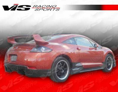 Eclipse - Rear Bumper - VIS Racing - Mitsubishi Eclipse VIS Racing D Speed Rear Lip - 06MTECL2DDSP-012