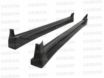 Impreza - Side Skirts - Seibon - Subaru Impreza Seibon CW Style Carbon Fiber Side Skirts - SS0405SBIMP-CW