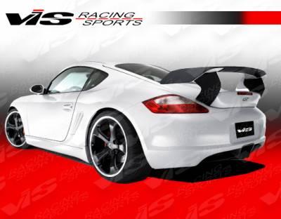 Cayman - Rear Bumper - VIS Racing - Porsche Cayman VIS Racing A Tech GT Rear Bumper - 06PSCAM2DATHGT-002