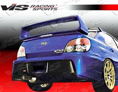 WRX - Rear Bumper - VIS Racing. - Subaru WRX VIS Racing Z Sport Rear Bumper - 06SBWRX4DZST-002