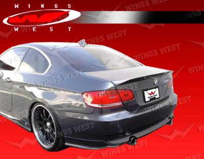 3 Series 2Dr - Rear Bumper - VIS Racing - BMW 3 Series VIS Racing JPC Rear Lip - 07BME922DJPC-012P