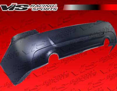 3 Series 2Dr - Rear Bumper - VIS Racing - BMW 3 Series VIS Racing M Tech-2 Rear Bumper Dual Exhaust - 07BME922DMTH2-002