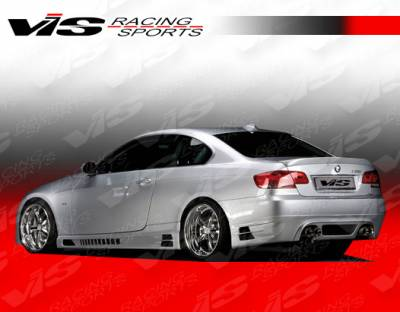 3 Series 2Dr - Rear Bumper - VIS Racing - BMW 3 Series VIS Racing R Tech Rear Lip - 07BME922DRTH-012