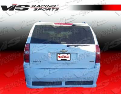 Silverado - Rear Bumper - VIS Racing - Chevrolet Silverado VIS Racing VIP Rear Bumper - 07CHSIL2DVIP-002