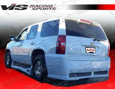 Suburban - Rear Bumper - VIS Racing - Chevrolet Suburban VIS Racing VIP Rear Bumper - 07CHSUB4DVIP-002