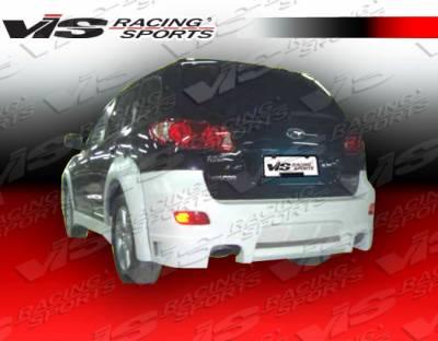 Santa Fe - Rear Bumper - VIS Racing - Hyundai Santa Fe VIS Racing Outcast Rear Bumper - 07HYSAN4DOC-002