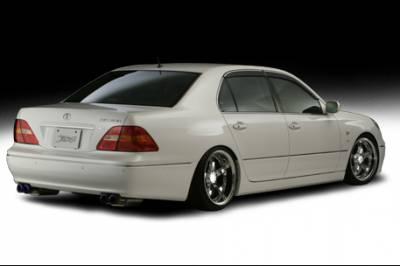 LS400 - Rear Bumper - VIS Racing. - Lexus LS VIS Racing ACT Rear Lip - 07LXLS44DACT-012