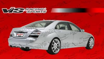 S Class - Rear Bumper - VIS Racing - Mercedes-Benz S Class VIS Racing B Spec Rear Lip - 07MEW2214DBSC-012