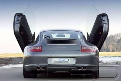 Vertical Door Kits - OEM - Custom - Porsche 997 full Bolt on Diablo kit