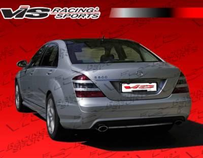 S Class - Rear Bumper - VIS Racing - Mercedes-Benz S Class VIS Racing Euro Tech Rear Bumper - 07MEW2214DET-002