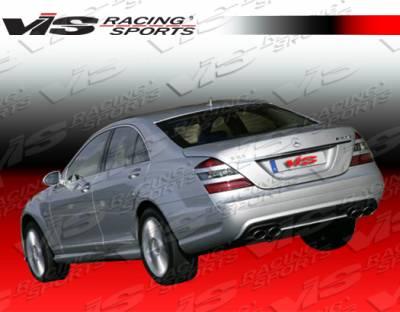 S Class - Rear Bumper - VIS Racing - Mercedes-Benz S Class VIS Racing Euro Tech 65 Style Rear Bumper - 07MEW2214DET65-002