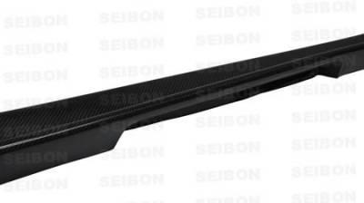 Impreza - Side Skirts - Seibon - Subaru Impreza Seibon CW Style Carbon Fiber Side Skirts - SS0607SBIMP-CW