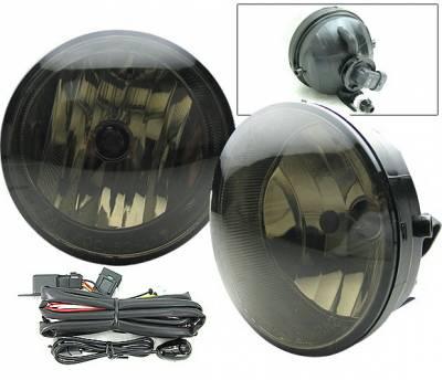Headlights & Tail Lights - Fog Lights - 4 Car Option - Toyota Solara 4 Car Option Fog Light Kit with Switch - Smoke - LHF-TS04SM