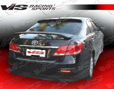 Camry - Rear Bumper - VIS Racing - Toyota Camry VIS Racing Fuzion Rear Lip - 07TYCAM4DJFUZ-012