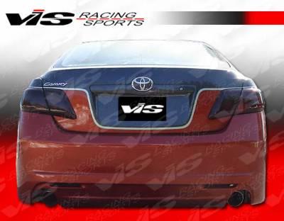 Camry - Rear Bumper - VIS Racing - Toyota Camry VIS Racing VIP-2 Rear Bumper - 07TYCAM4DVIP2-002