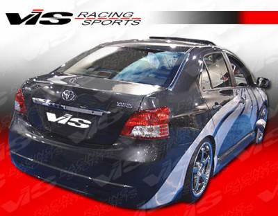Yaris - Rear Bumper - VIS Racing - Toyota Yaris VIS Racing VIP Rear Bumper - 07TYYAR4DVIP-002