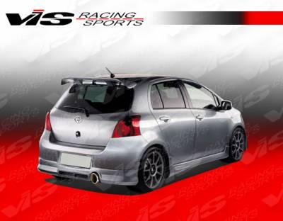 Yaris - Rear Bumper - VIS Racing - Toyota Yaris VIS Racing Zyclone Rear Lip - 07TYYARHBZYC-012