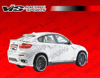 X6 - Rear Bumper - VIS Racing - BMW X6 VIS Racing Euro Tech Rear Lip - 08BME714DET-012