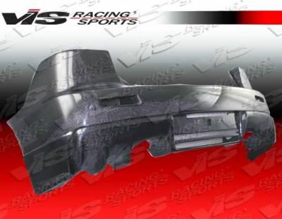 Lancer - Rear Bumper - VIS Racing - Mitsubishi Lancer VIS Racing OEM Rear Bumper - Carbon Fiber - 08MTEV104DOE-002C